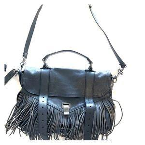 ProProenza Schouler Fringe Ps1 Leather Satchel